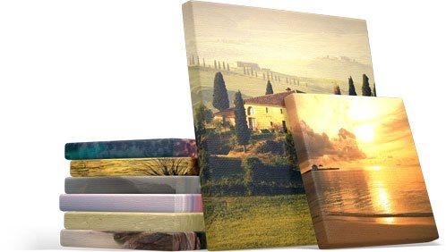 Печать фото на холсте в Волжском недорого | Сделать фото картины на холсте